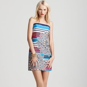 Laundry by Shelli Segal Striped Floral Dress